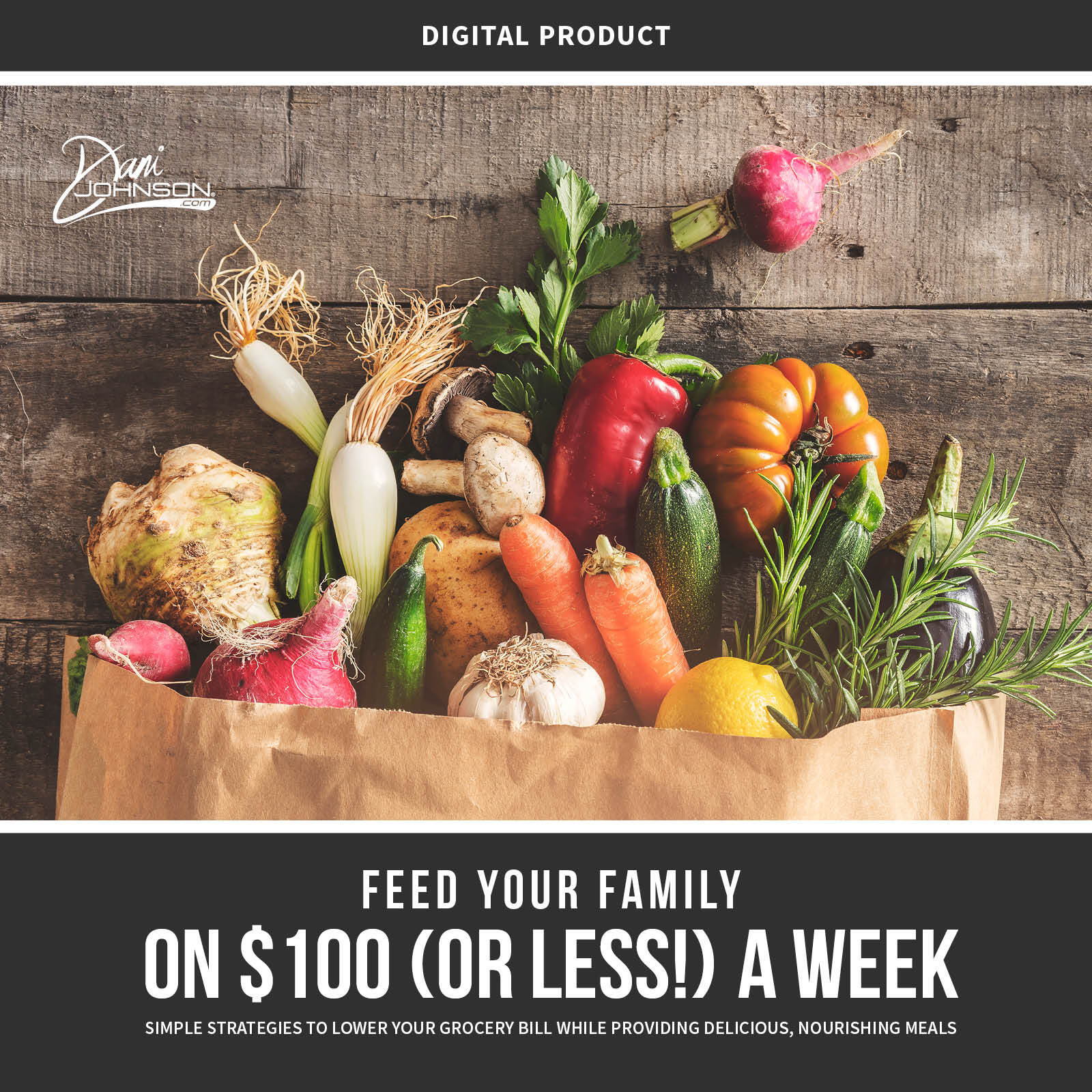 Feed Your Family On $100 A Week eBook