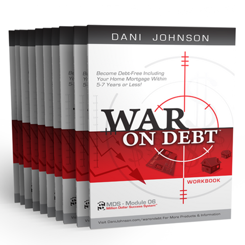 War On Debt Workbook