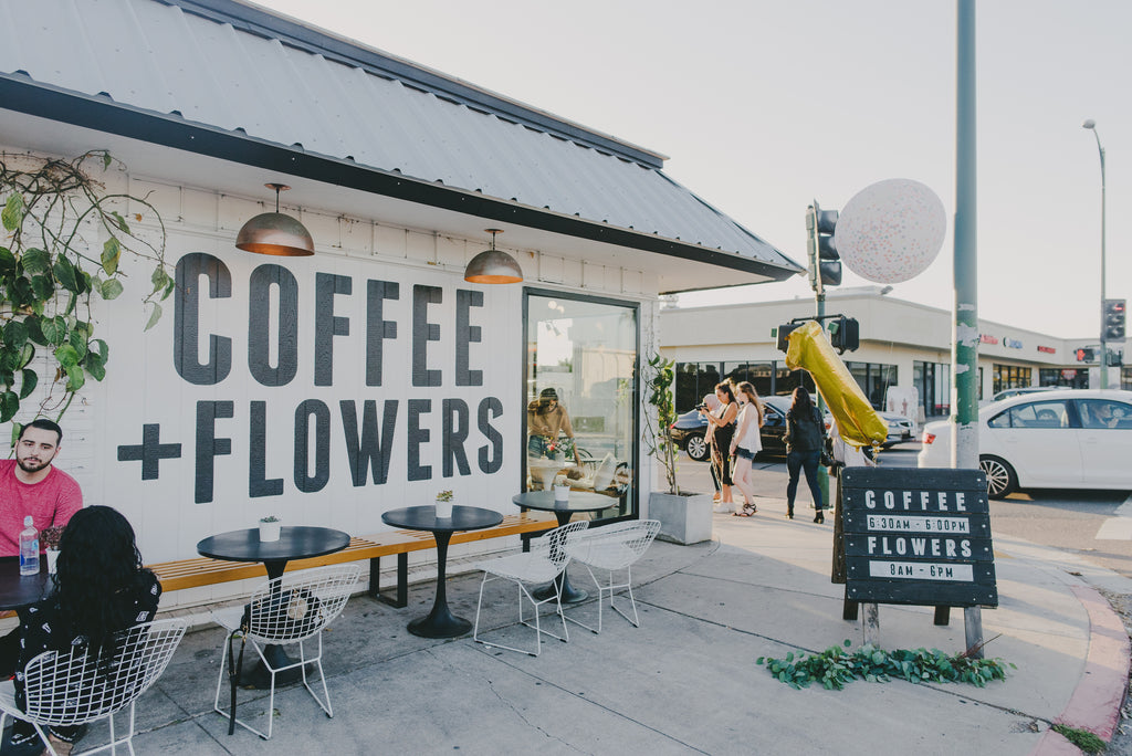 coffee + flowers 1 year