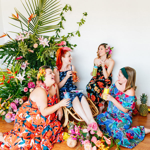 Wild Flower Club | Retro Tiki Party