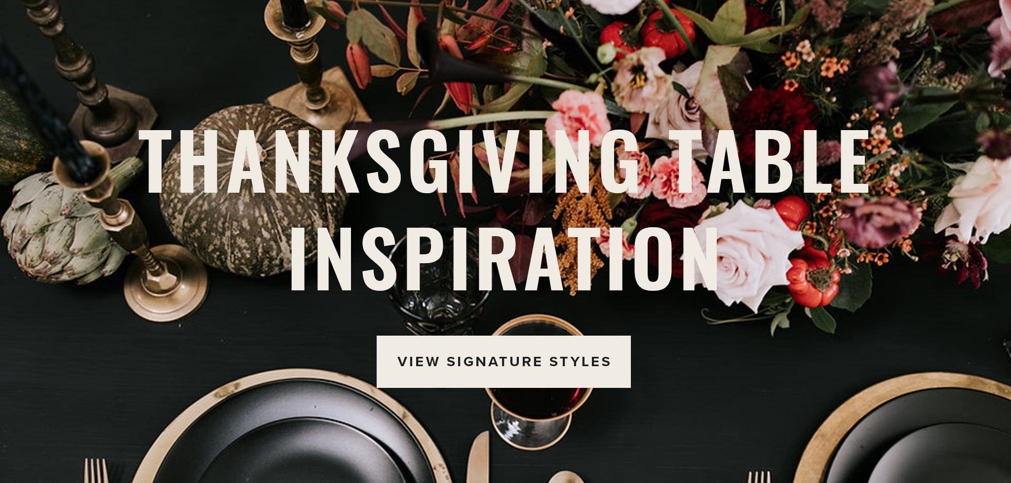 Thanksgiving Table Inspiration | Native Poppy