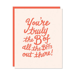 B Of All The BFFS Card | Odd Daughter