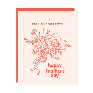 Best Woman I Know Card - Odd Daughter Paper Co.
