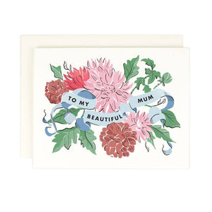 Beautiful Mum Card | Amy Heitman