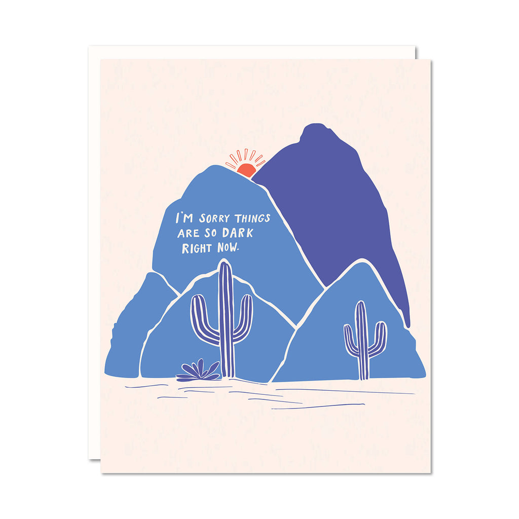 Dark Right Now Card | Odd Daughter Paper Co.