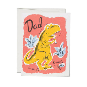 Dinosaur Dad Card | Red Cap Cards