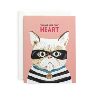 Heart Burglar Card | Sagebrushed