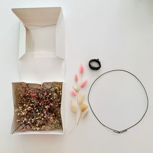 Dried Flower Crown DIY kit