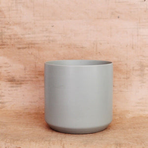 Kendall Pot - light grey ceramic vase