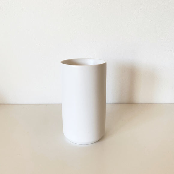 Tall Kendall Vase - white ceramic vase
