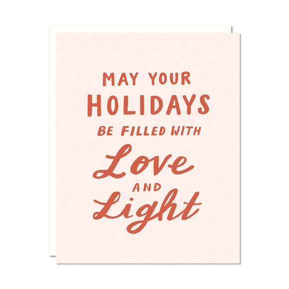 Love and Light Holiday Card | Odd Daughter