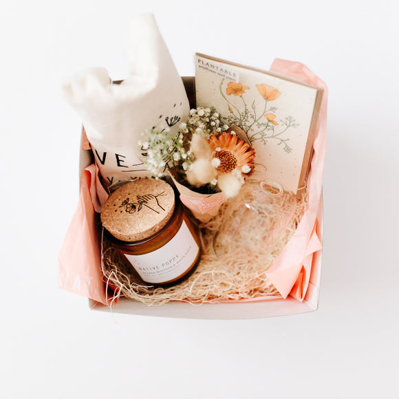 Native Poppy Signature Gift Box with greeting card