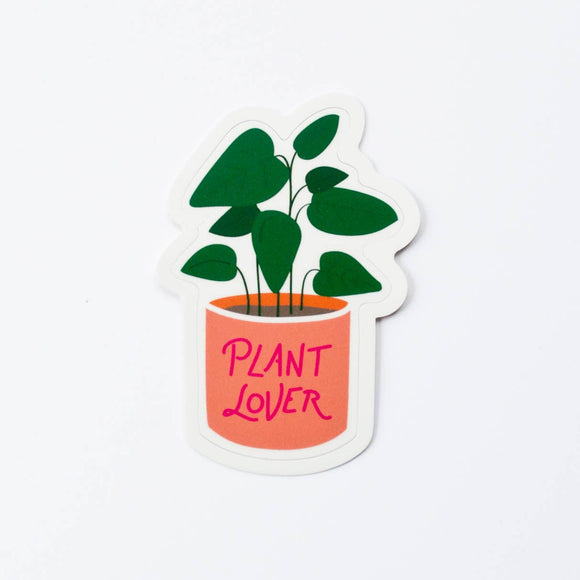 Plant Lover Sticker | Graphic Anthology
