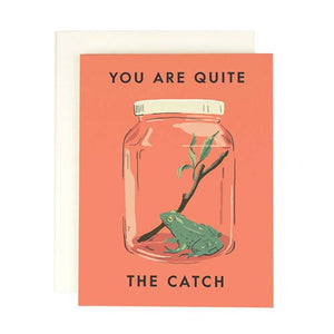 Quite the Catch Card | Amy Heitman