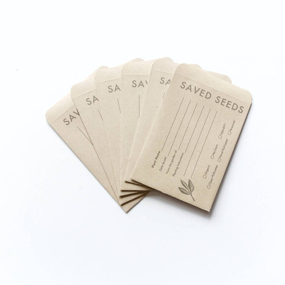 Seattle Seed Co Seed Envelopes