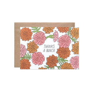 Marigold Thank You Card | Hartland Brooklyn