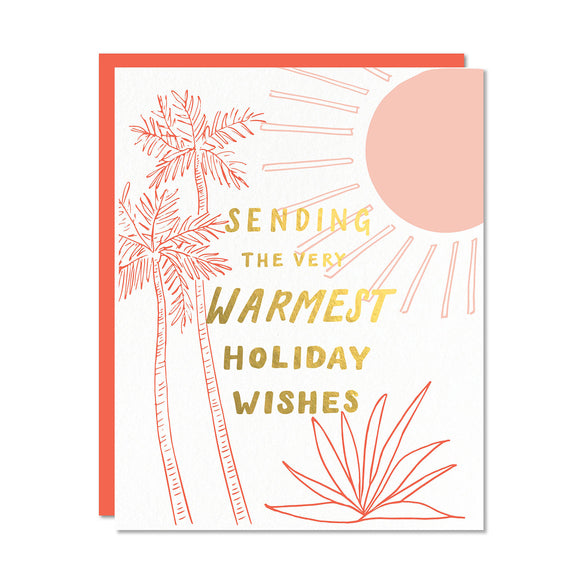 Sending the Warmest Holiday Wishes Card | Odd Daughter