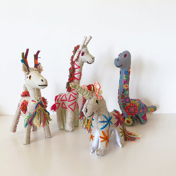 Colorful Mexican Stuffies | Folk Project