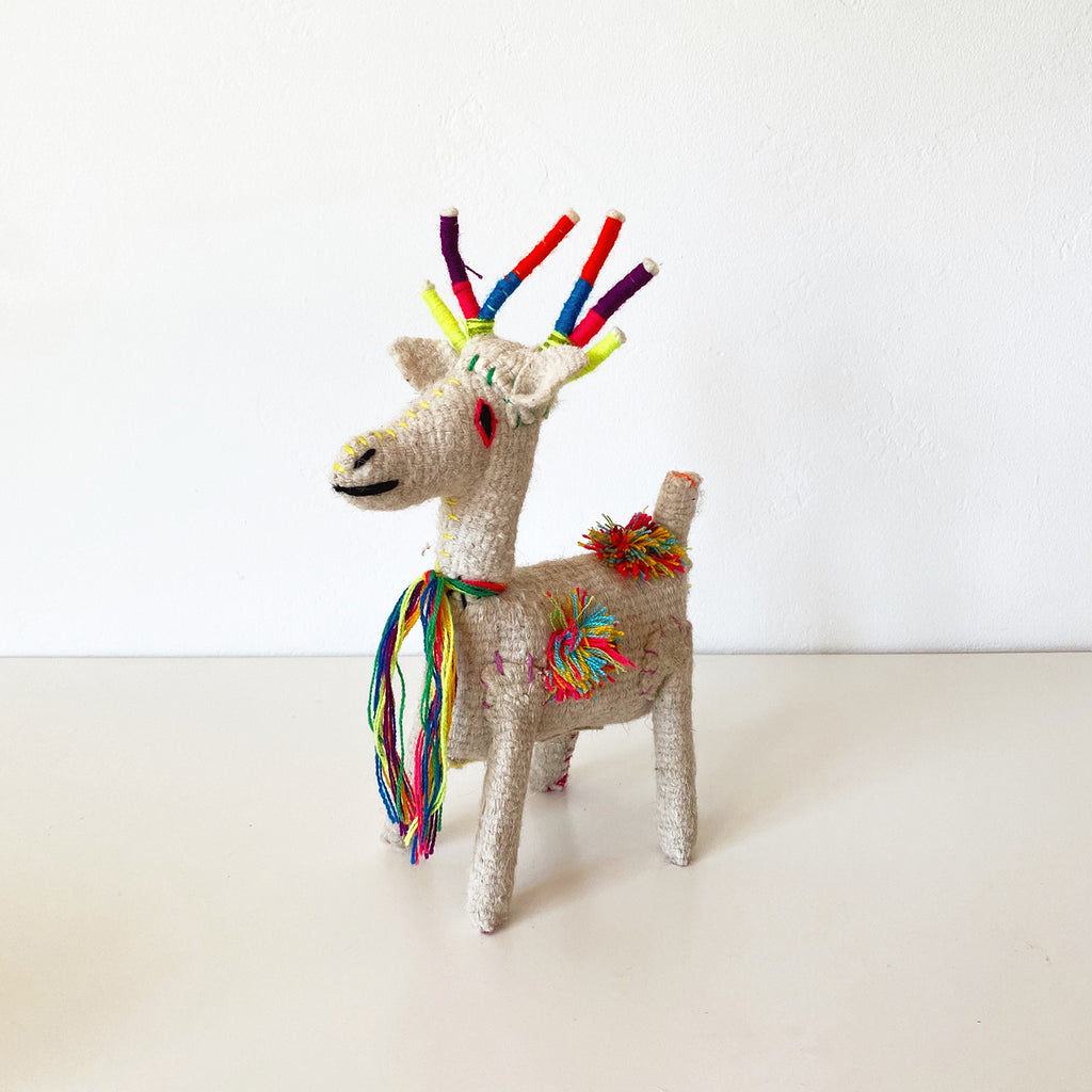 Deer - Colorful Mexican Stuffies | Folk Project
