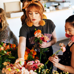 Fall Flower Arranging 101