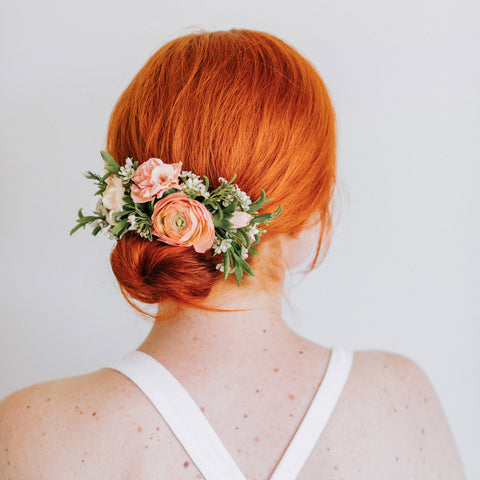 Hair Comb | Wedding Menu | Native Poppy