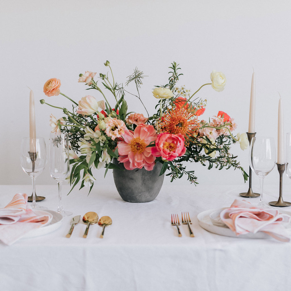 Large Bridal Centerpiece | Native Poppy