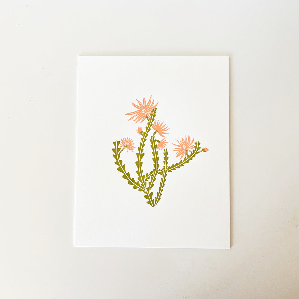Odd Daughter Paper Co. | Orchid Cactus Print