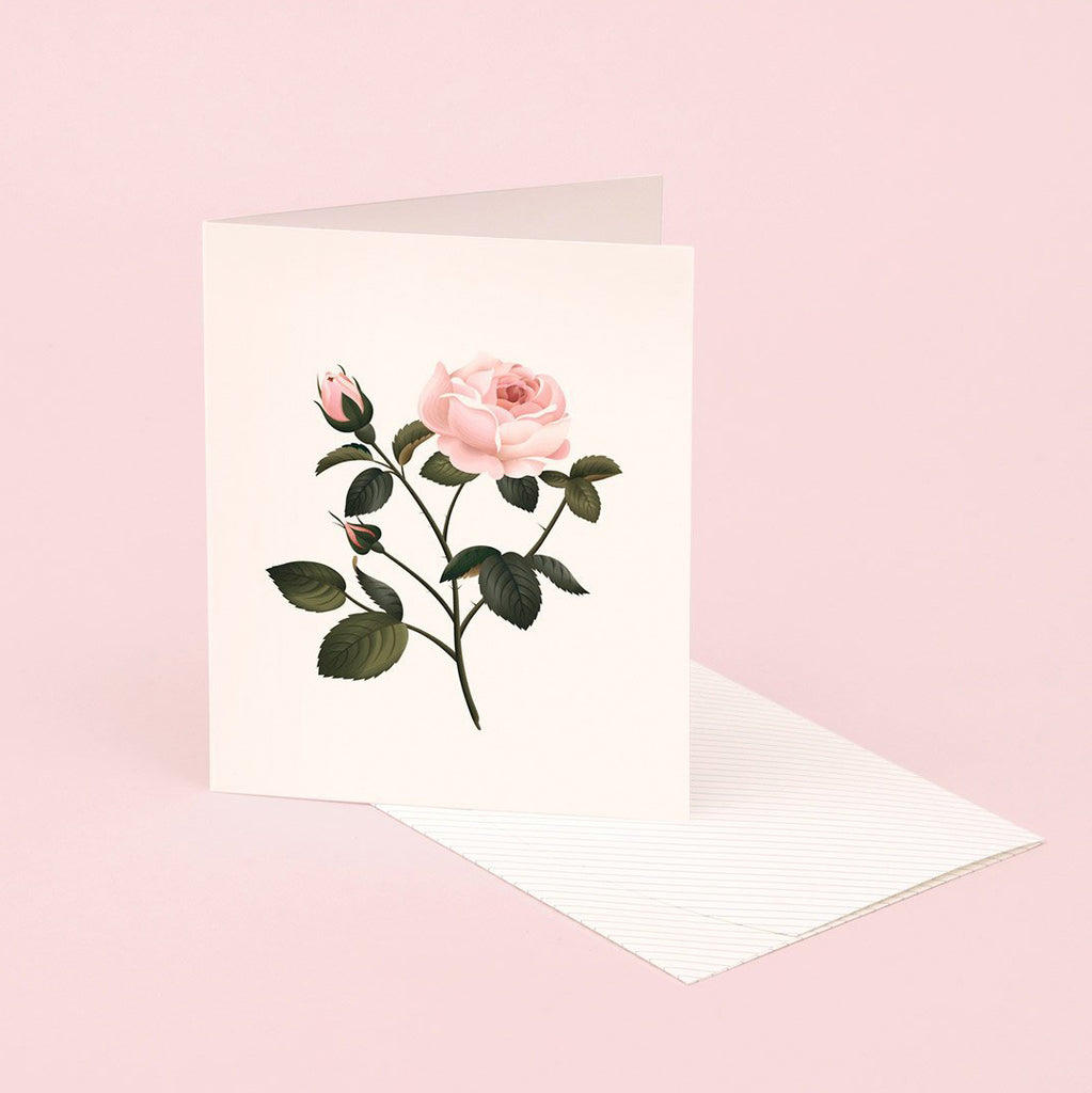 Rose scented greeting card from Clap Clap