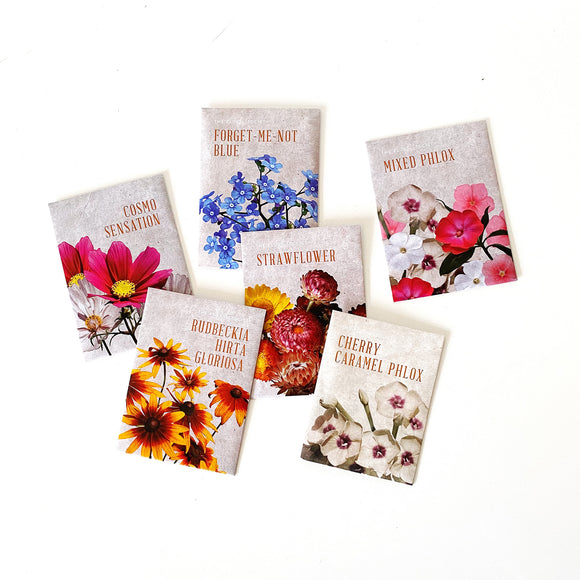The Floral Society Seed Packets