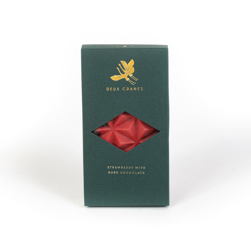 Strawberry Dark Chocolate from Deux Cranes