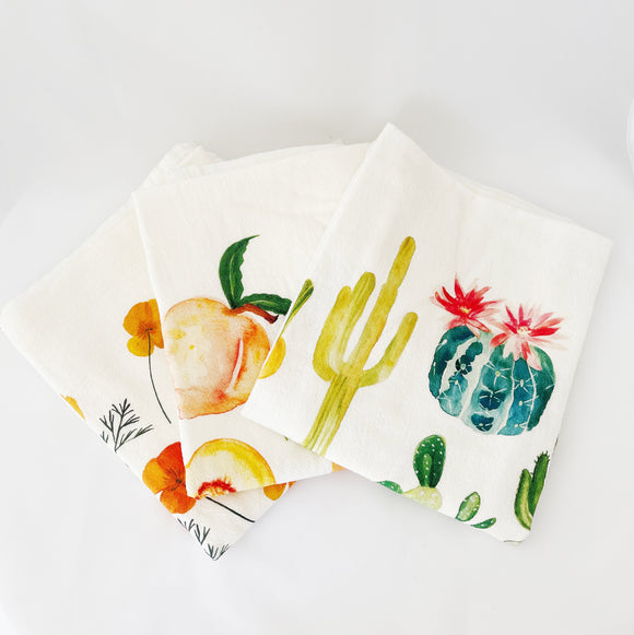 Honey Brush Designs Tea Towels