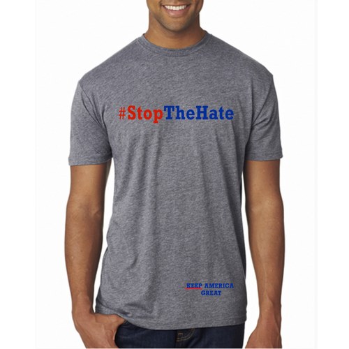 #StopTheHate Extra-Soft Tee
