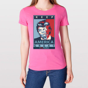 Woman's Keep America Great Tee