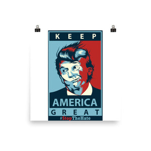 Keep America Great Posters w/Fingerprint Resist