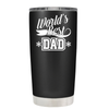 Worlds Best Dad 20 oz Tumbler