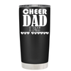 Cheer Dad I Pay She Cheers 20 oz Tumbler