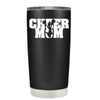 Cheer Mom with Cheerleader Silhouette 20 oz Tumbler
