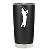 Golf Player Silhouette 20 oz Tumbler