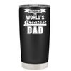 Officially the Worlds Greatest Dad 20 oz Tumbler