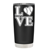 BaseBall Love Heart 20 oz Tumbler