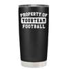 Property of Football Personalized 20 oz Tumbler