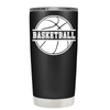 Basketball Ball 20 oz Tumbler