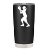 Girl Shooting Basketball 20 oz Tumbler
