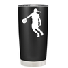 Basketball Girl Player Silhouette 20 oz Tumbler