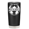 Personalized Soccer Ball 20 oz Tumbler