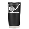 Monogrammed Golf Ball 20 oz Tumbler