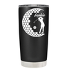Personalized Women Golfer 20 oz Tumbler