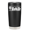 Golf Dad with Golf Ball 20 oz Tumbler