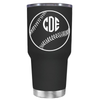 Baseball Monogram Design 30 oz Tumbler