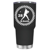 Baseball Player Personalized 30 oz Tumbler